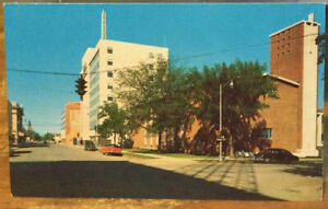 Montana Postcard BILLINGS, MT Third Avenue North Looking West Clifford B Ellis