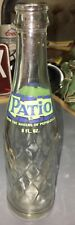 Patio~A Product Of Pepsi-Cola Company~Vintage Soda Bottle~8 Oz- Clean