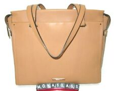 Brahmin Medium Emily Thatcher Tan Smooth High Quality Leather Tote Bag NWT $385