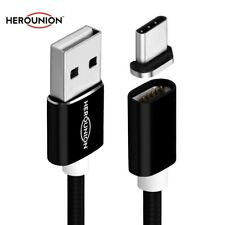 2.4A Magnetic Type C USB Data Charging Cable Magnet Adapter For Samsung S8 Plus