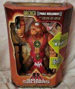 Figurine SMALL SOLDIERS : ARCHER - DreamWorks Hasbro 1999 - Boite france  Neuve