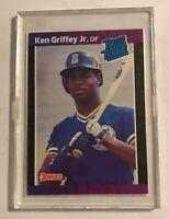 1988 Leaf Ken Griffey Jr Baseball Rated Rookie Card #33 Seattle Mariners MLB