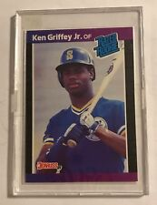 1988 Leaf Ken Griffey Jr Baseball Rated Rookie Card #33 Seattle Mariners MLB