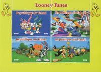 LOONEY TUNES DISNEY ANIMATED CARTOON BUGS BUNNY 2014 MNH STAMP SHEETLET