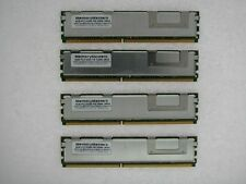 4x4GB RAM 16GB 2Rx4 FBDIMM mem 667MHz ECC fully buffered DDR2 PC2-5300F TESTED