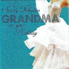 TO A STRICTLY FABULOUS GRANDMA ON YOUR BIRTHDAY CARD - STRICTLY COME DANCING