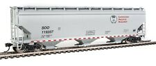 CP (SOO) NSC 5150 60' 3-Bay Covered Hopper #119207 HO - Walthers #910-7665