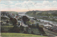 Lynchburg,VA.View of Town from White Rock Hill,Used,Flag Cancel,1911