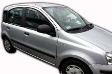 Fiat Panda II 5 portes 2003-2012 Deflecteurs d'air Déflecteurs de vent 2pcs