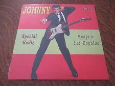 RARE 33 tours JOHNNY HALLYDAY special radio! bonjour les copains! volume 5 2014