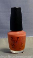 Opi Coral Sea Nail Polish