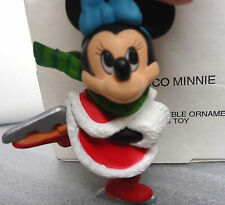 Disney Dco Ornament Minnie Mouse #011904 Christmas Ornament in Good Used