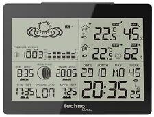 Funk Wetter Station Wetterstation Vorhersage Außentemperatur Luftfeuchtigkeit