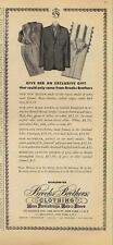 1962 Brooks Brothers PRINT AD Men's Fashion clothes designer great decor