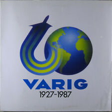 Conjunto Fogueira Três 'Varig 1927-1987' 1987 Brasil Picture disc Vinyl LP RARE!
