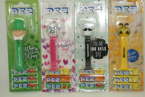 PEZ dispenser Best Mom ever, Superdad, Chrystal Bee, St. Patrick's day, Limited!