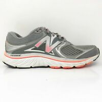New Balance Womens 940 V3 W940GP3 Gray Running Shoes Lace Up Low Top Size 8 B