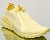 Nike Current Slip On BR Men's Lemon Chiffon Athletic Lifestyle Sneakers Shoes