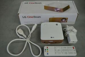 LG MiniBeam PH150G PH150G-GL Projector - HD Projector w/ Remote and PS Cinebeam
