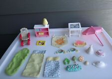 Large Lot Vintage Fisher Price Loving Family Accesories
