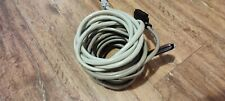 Lot Of 5 25 Pair Amphenol Cat3 Trunk Cable 50 Pin Male To Blunt Pbx Amp 55 Ft