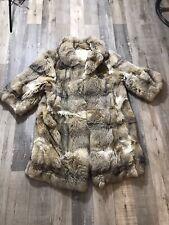 Genuine Fur Coat Jacket / Estimated size 10-12