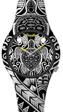 DOODLE WATCH ░ Armbanduhr für SIE& IHN Ø 39mm   Silikon > Schildkröte > DOAR002