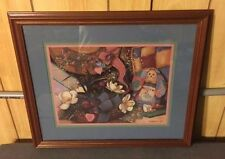 Home Interior Pictures Patchwork-Rabbit Signed Sambataro