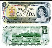 CANADA 1 DOLLAR ND 1973 P 85 C UNC
