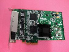 SILICOM PEG4 QUAD PORT COPPER GIGABIT ETHERNET PCI EXPRESS SERVER ADAPTER V 1.0