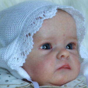 """Tink By Bonnie Brown New Reborn Baby Doll Kit @18""""@Vinyl Parts Only"""