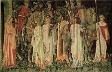 The Holy Grail Knights Arthurian Legend Edward Burne-Jones Canvas Poster Print