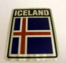 """3x4"" Iceland Sticker / Iceland Flag / Decal"