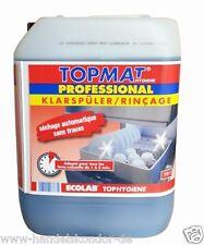TOPMAT PROFESSIONAL Klarspüler 10 Liter für Spülmaschine TOPHYGIENE NEU