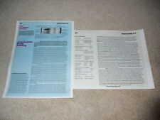 Pioneer SA-9800 Amplifier Review, 2 pg, 1979, Full Test