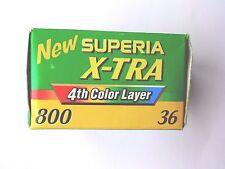 1 x Fuji Superia X-TRA 800 35mm Color de impresión de película caducada 2004 Lomography película