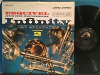 RAUL ESQUIVEL INFINITY IN SOUND VOL 2~1961 DG STEREO LP~2S/2S~SPACE AGE EXOTICA