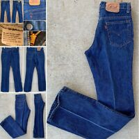 Vintage Levi's 517 Jeans Talon 42 Zipper 517-0217  30 X 34 Measures 29.5 X 33.25
