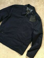 "TED BAKER NAVY BLUE ""ELBOW"" ZIP HARRINGTON JACKET - M - NEW with tags RRP£249"