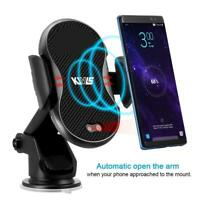 CARGADOR COCHE INALAMBRICO Car wireless CHARGER s9 s8 Plus s7 iPhone 24/48