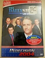 Jon Stewart INdecision 2004 The Daily Show 3 DVD Disc Set Comedy Politics Sealed