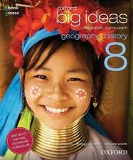 NEW Oxford Big Ideas Geography/History 8  By Mark Easton Book with Other Items
