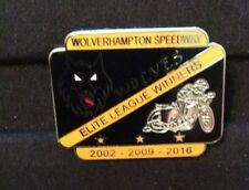 2017 WOLVERHAMPTON SPEEDWAY E L WINNERS BADGE     ( EXCELLENT CONDITION )