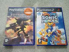 Ps2 Sonic Heroes & Shadow The Hedgehog Games Bundle