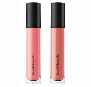 BareMinerals 2 Gen Nude Buttercream Lip Gloss Shade Cosmic Fancy 0.13oz $36 NIB