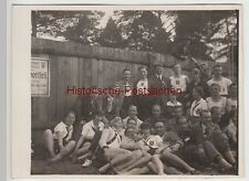 (F5188) Orig. Foto Cottbus, Kreisturnfest, Sportler d. Berliner Turnerschaft 192