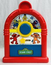 Vintage 1994 Tyco Sesame Street Musical Juke Box Toy Elmo Zoe Grover Oscar Spin