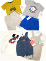 10pc Mixed Boys Clothes lot Adidas, Osh Kosh Outfits 2pairs of Shoes 0-18 months