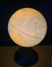 Fucashun Illuminated World Globe 12in Black Plastic Base Desk lamp Night Light