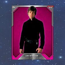 Topps Star Wars Card Trader DIGITAL Pink Base Luke Skywalker Variant 15cc